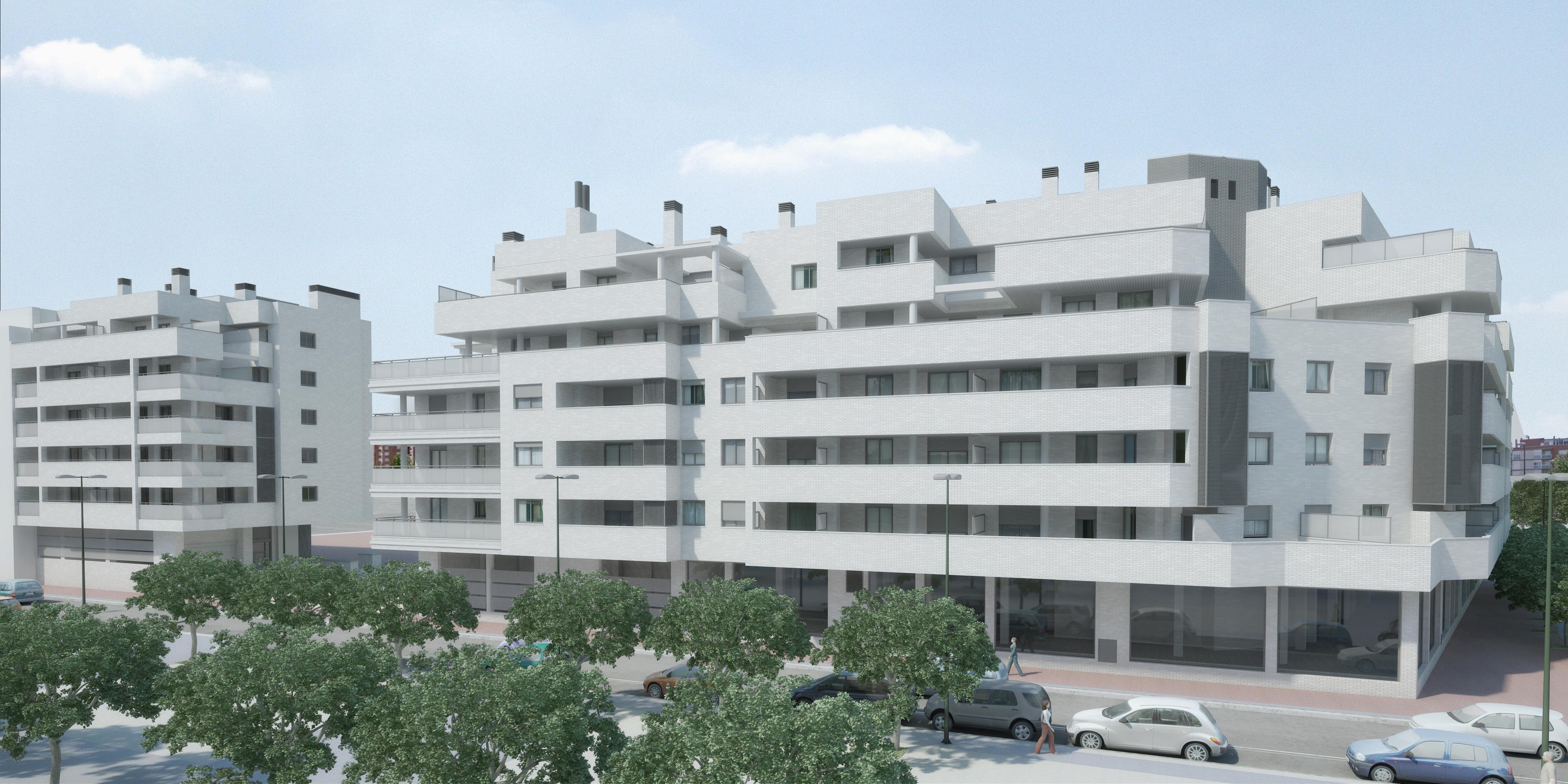 58 viviendas zaragoza estudio metro - Estudio arquitectura zaragoza ...